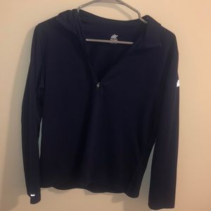 Navy Quarter Zip